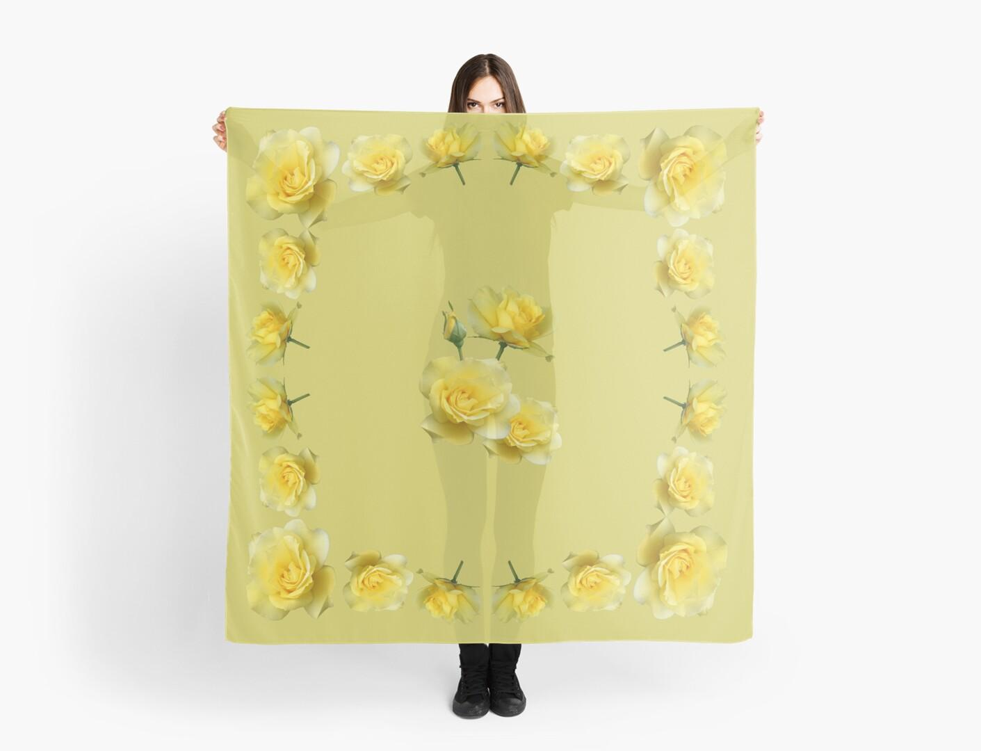 Yellow Rose Boquet by STHogan
