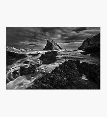 Bow Fiddle Storm Photographic Print