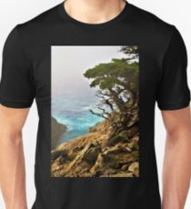 Old Cypress by the Sea Unisex T-Shirt