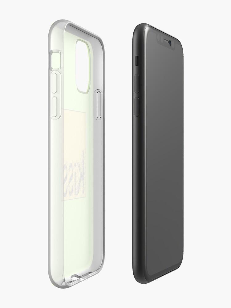 Coque iPhone «Baiser», par JLHDesign