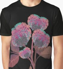Heart Flowers  Graphic T-Shirt