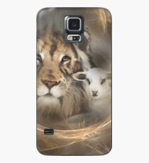 "lion lamb ""lion lamb"" Christ Jesus Christian Spirituality gifts popular ""best selling"" beautiful Case/Skin for Samsung Galaxy"