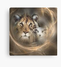 "lion lamb ""lion lamb"" Christ Jesus Christian Spirituality gifts popular ""best selling"" beautiful Canvas Print"