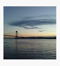 Verrazano Narrows Bridge, Brooklyn, NYC Photographic Print
