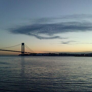 Verrazano Narrows Bridge, Brooklyn, NYC by znamenski