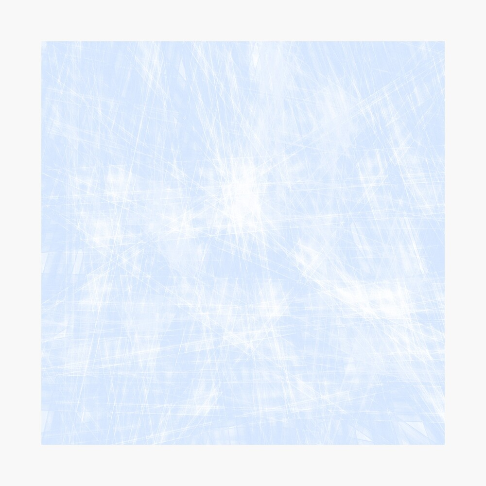 azul Lámina fotográfica