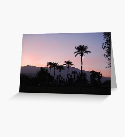 Sunset on the 14th Greeting Card