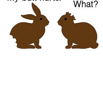 Funny Bunny Conversation by Poxiel