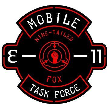 "MTF ""Nine-Tailed Fox"" Badge by TheVolgun"
