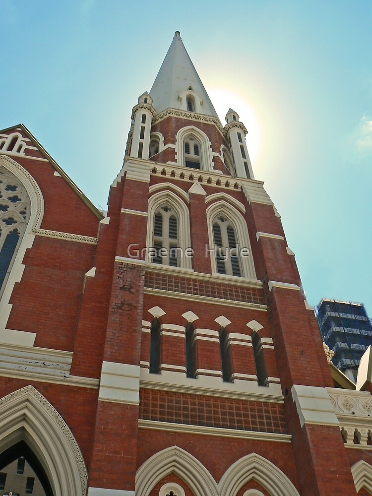 Albert Street Uniting Church, Brisbane by Graeme  Hyde