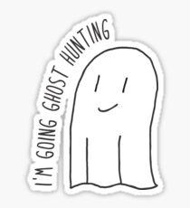 Ich gehe auf Geisterjagd Sticker
