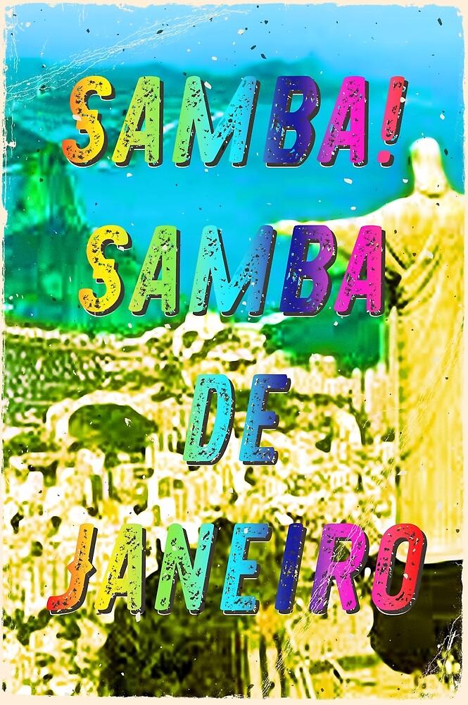 Samba de Janeiro – A Hell Songbook Edition - Paralympic Games Rio de Janeiro - Brazil by Hell-Prints