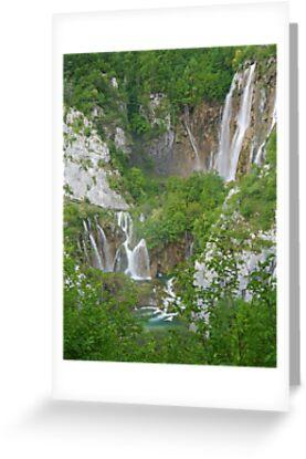 Veliki Slap, Plitvice Lakes National Park by Graeme  Hyde