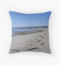 distant chatters Throw Pillow