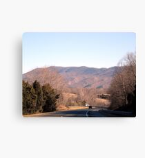 Mountain Highway Canvas Print