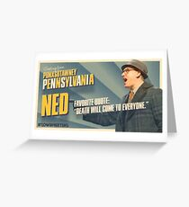 Ned Ryerson Greeting Card