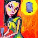 Girl In A Silk Dress by kimbaross