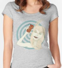 Lonely Love Women's Fitted Scoop T-Shirt