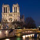 Notre Dame, Paris by Eric Flamant