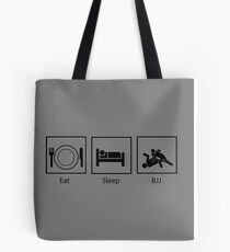 Eat, Sleep, BJJ Tote Bag