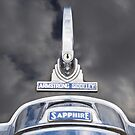 Armstrong Siddeley classic car chrome detail by greenbeam
