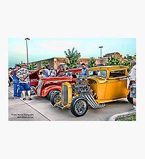 Hot Rod Classics Photographic Print