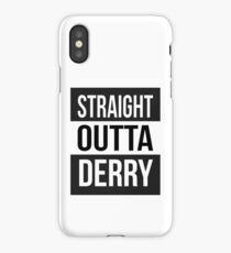 Derry iPhone Case