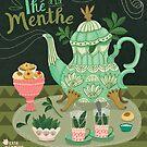 Peppermint Tea by KateMerrittshop