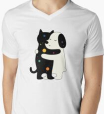 Universal Language Men's V-Neck T-Shirt