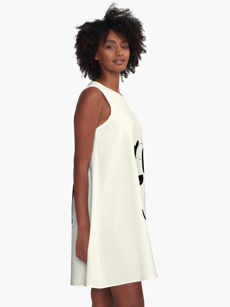 Alternate view of Universal Language A-Line Dress