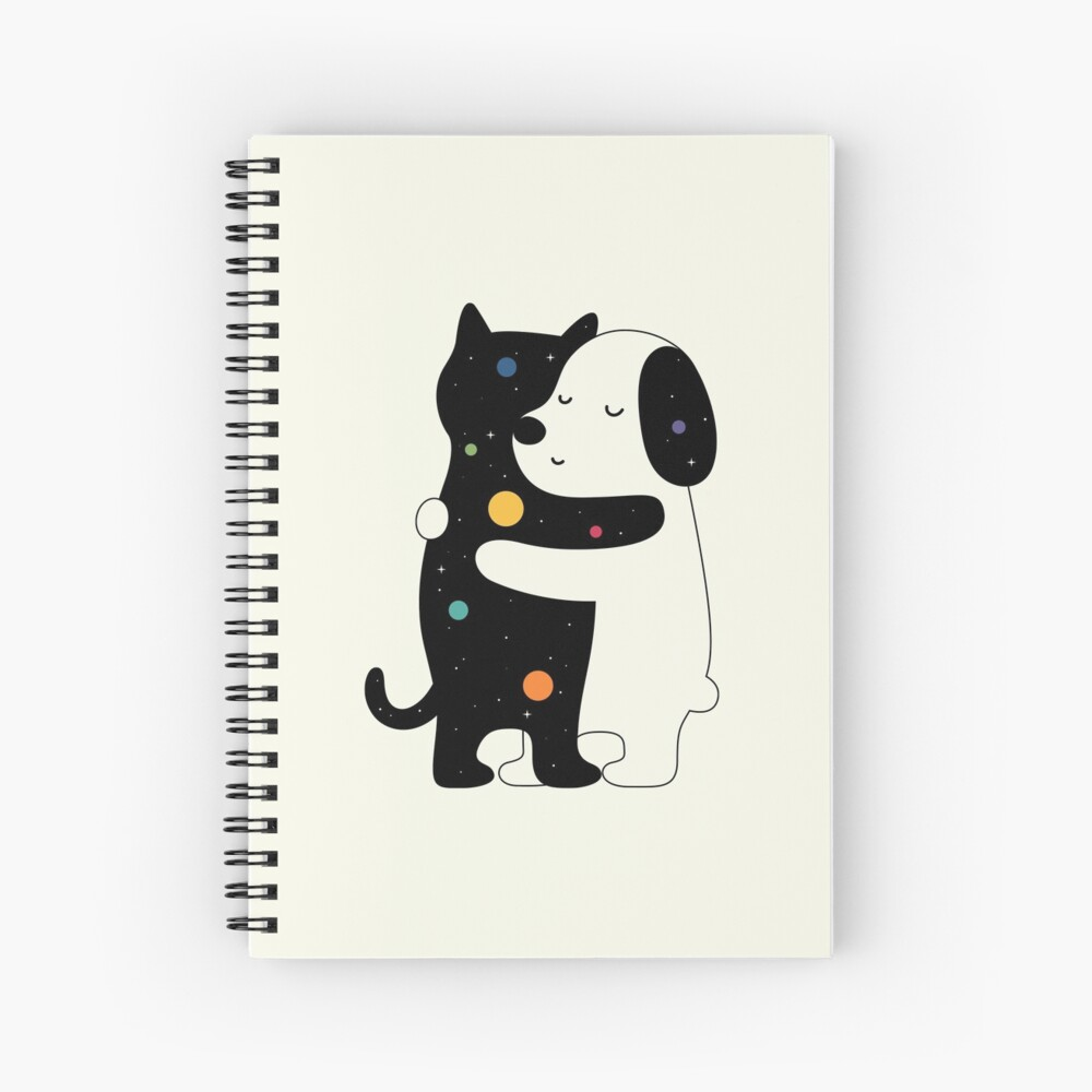 Universal Language Spiral Notebook