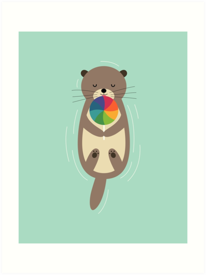 Sweet Otter by AndyWestface