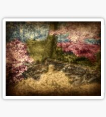 A Walk In The Mystical Woods - Infrared Series Sticker
