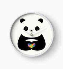Panda Love Clock