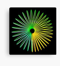 Abstract Hologram Canvas Print