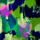 Tulips abstract by Marlies Odehnal