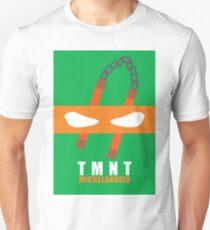 Michelangelo - TMNT Minimaliste Unisex T-Shirt