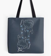 Guitar and signature  Tote Bag