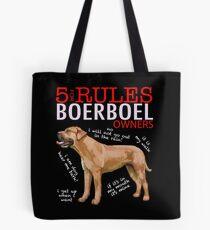 5 Rules for Boerboel Owners Tote Bag