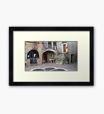 Place Du Four Framed Print