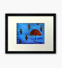 kafka on the shore #1 Framed Print