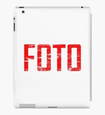 FOTO iPad Case/Skin