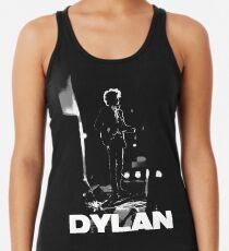 dylan on black Racerback Tank Top