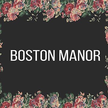 Boston Manor Floral Flag by jakemurray21