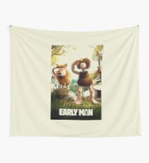 early man movie Wall Tapestry
