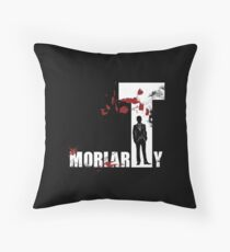 MoriarTy Throw Pillow