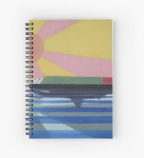 Dangerous Waters Spiral Notebook