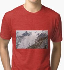 High up in the Alps Tri-blend T-Shirt