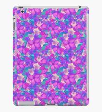 Tropical flowers iPad Case/Skin