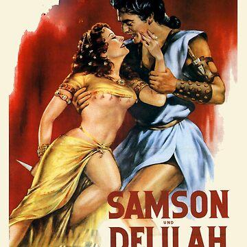 samson and delilah 1949 by 3rdeyegirl
